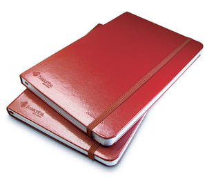 Smartpen anteckningsbok, inbunden, olinjerad, 2-pack, röd