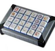 Programmerbart tangentbord belyst  USB - 24 tangenter