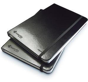 Pulse Smartpen anteckningsbok, inbunden, linjerad, 2-pack, svart